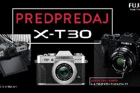 Fujifilm - predpredaj X-T30