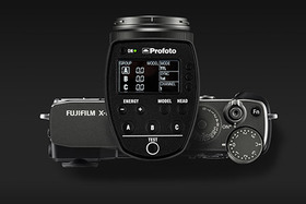 S Fujifilm X v ateliéri