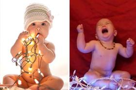 Vianočné fotografovanie detí, očakávanie  vs. realita