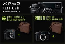 Príležitosť pre výhodný nákup FUJIFILM X-Pro2.  Len pre prvých 10 záujemcov.