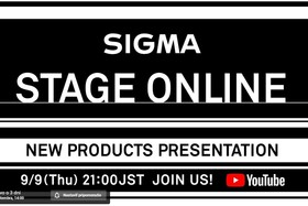 SIGMA STAGE ONLINE ー New Products Presentations on September 9th