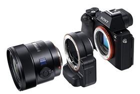 Sony CSC a manuálne objektívy