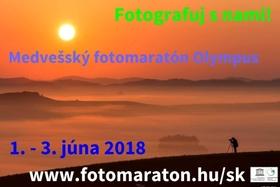 MEDVEŠSKÝ FOTOMARATÓN OLYMPUS  2018