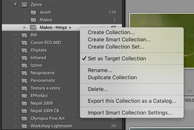 Adobe Lightroom CC - Target Collection