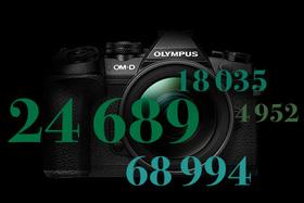 Olympus PEN & OM-D - počet cyklov uzávierky