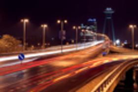 Nočná fotografia II. - nočné mesto