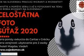 Celoštátna fotografická súťaž - Čo vlastne robia migranti na Slovensku?