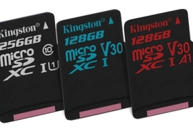 Kingston Digital oznamuje novú sériu pamäťových kariet s názvom Canvas