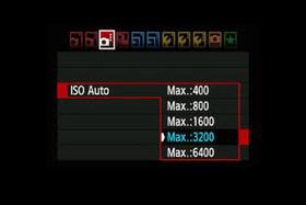 Auto ISO -  automatické nastavenie citlivosti