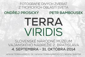 Výstava Terra Viridis - Ondřej Prosický, Petr Bambousek (doplnené)