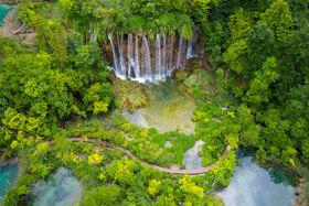 Mojich 19 fotografií vodopádov, jazier a riek v Chorvátsku