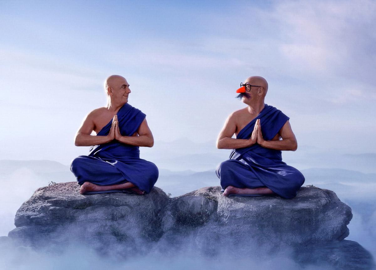 Картинки с медитацией прикольные