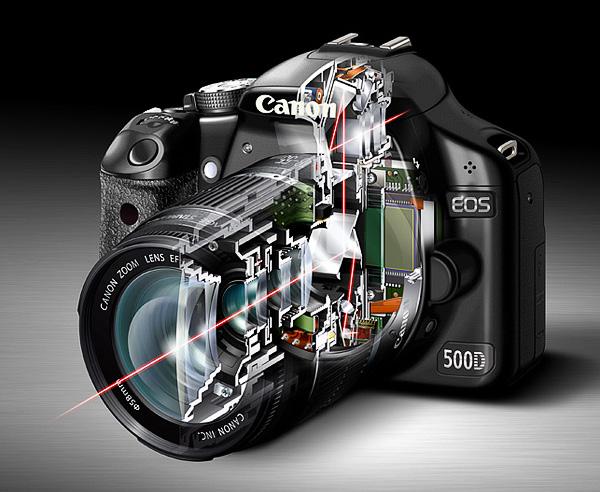 4b670008b Rez digitálnou zrkadlovkou Canon EOS 500D.